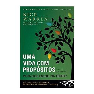 Livro Uma Vida com Propósitos - Ryck Warren