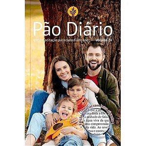 Pão Diário 2021 Vol.24 Letra Gigante Capa Família