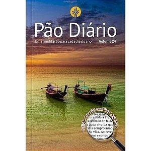 Pão Diário 2021 Vol.24 Edição Especial Letra Gigante Capa Paisagem