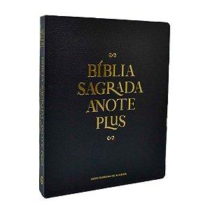 Bíblia Anote Plus RC Letra Grande Capa Dura Black Edition