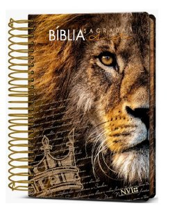 BÍBLIA ANOTE NVI-  LEÃO COROA