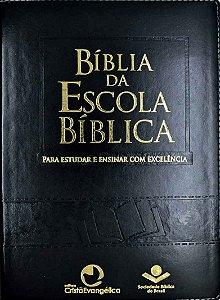 Bíblia Da Escola Bíblica - Preta
