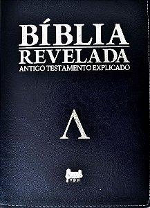 Bíblia Revelada Alpha - Antigo Testamento Explicado - Azul