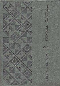 Bíblia De Estudo Swindoll - Cinza