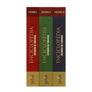 Enciclopédia Estudos De Teologia 3 Volumes Editora Semeie