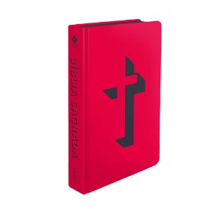 Bíblia Sagrada NVT Média Capa Soft Touch Cruz 3D