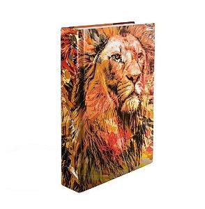 Bíblia Sagrada NTLH YouVersion Média Capa Soft Touch The Lion Fogo