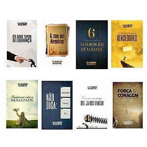 Kit Coleção Claudio Duarte Volume II - 8 Livros