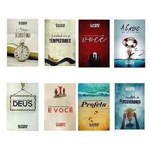 Kit Coleção Claudio Duarte Volume III - 8 Livros