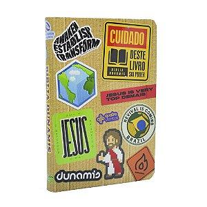 Bíblia Dunamis Stickers Capa Dura