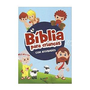 Bíblia Para Crianças Com Atividades Capa Brochura