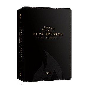 Bíblia de Estudo Nova Reforma NVI Preta