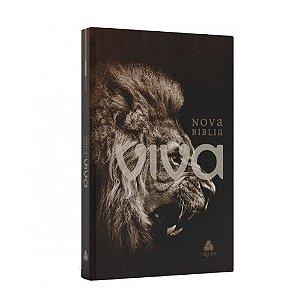 Nova Bíblia Viva Média Capa Dura Rugido Editora Hagnos