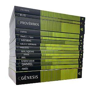 Coleção Antigo Testamento Hernandes Dias Lopes com 15 livros - Edição Limitada Ebenezer