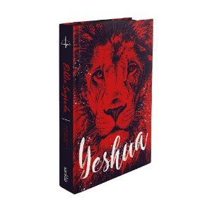 Bíblia Sagrada RC Média Capa Dura Leão Yeshua Vermelho