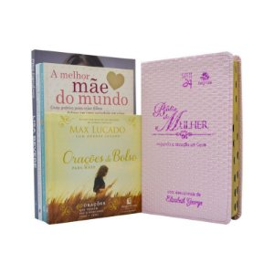 Combo Dia Das Mães - 4 Livros + Bíblia Devocional