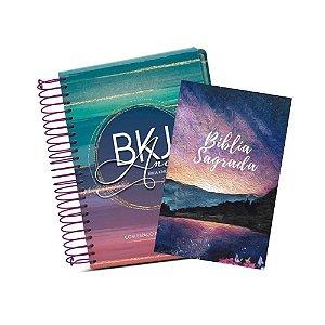 Combo Exclusivo Bíblia BKJ Anote Colors + Bíblia ACF Paisagem