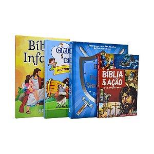 Combo Infantil 4 Livros