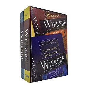 Comentário Bíblico Outline Wiersbe - 2 Volumes - Warrem W. Wiersbe