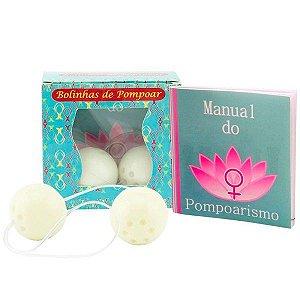 Kit de Pompoar com Bolinha BenWa e Manual