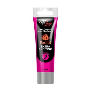 Anestésico Anal Excitante Facilit Extra Exciting 15ml
