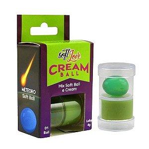 Pomada e Bolinha Cream Ball Mamba Verde 10g