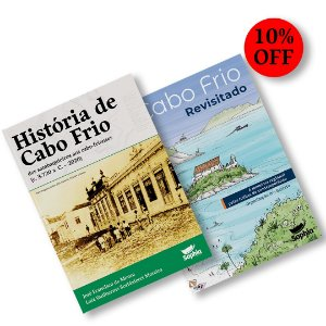 Combo História de Cabo Frio + Cabo Frio Revisitado