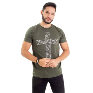 Camiseta - Cruz prata