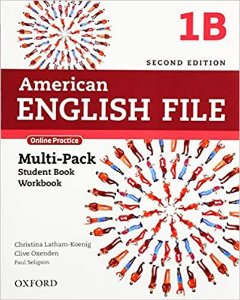 American English File 1B - Multipack (Student Book With Workbook And Online Practice) - Second Edition