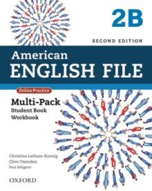 American English File 2B - Multipack (Student Book With Workbook And Online Practice) - Second Edition