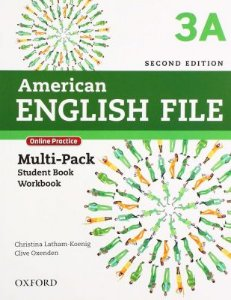 American English File 3A - Multipack (Student Book With Workbook And Online Practice) - Second Edition