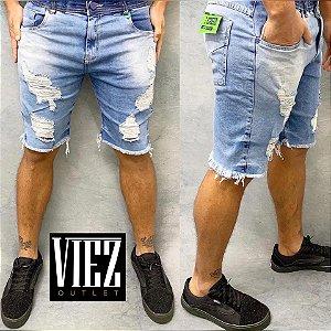 Bermuda Jeans Drestroyed