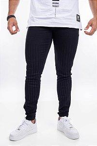 Calça Jeans austin risca giz