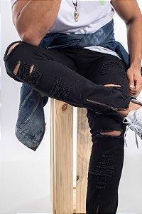 Calça Jeans black ziper