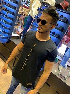 Camiseta Long line exclusiva Viez Cruz