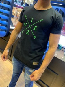 Camiseta Long line Viez Flecha