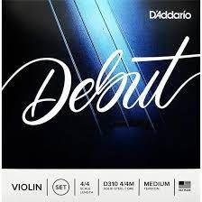 Encordoamento Daddario Debut Violino