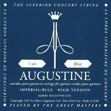 Encordoamento Agustine Imperial Blue Tensão Pesada Nylon