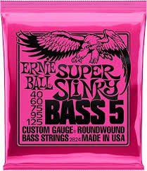 Encordoamento Ernie Ball Baixo 0.40 5 Cordas