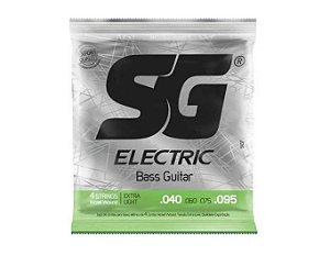 Encordoamento SG Baixo 0.40 4 Cordas