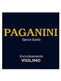 Encordoamento Pagannini Violino