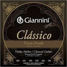 Encordoamento Giannini Classico Pesada