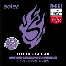 Encordoamento Solez Guitarra 0.11