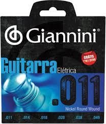 Encordoamento Giannini Guitarra 0.11