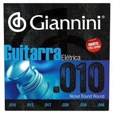 Encordoamento Giannini Guitarra 0.10