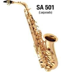 Saxofone Alto Eagle SA501 em Mib Laqueado
