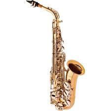 Saxofone Alto Eagle SA500 em Mib Dourado