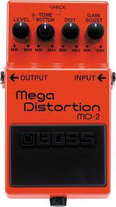 Pedal Boss MD-2 Mega Distortion
