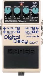 Pedal Boss DD-7 Didital Delay