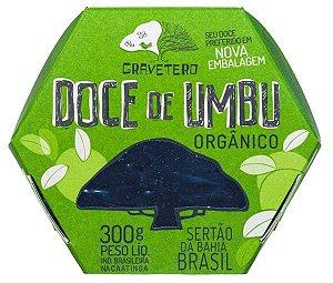 DOCE DE UMBU ORGÂNICO 300g - GRAVETERO